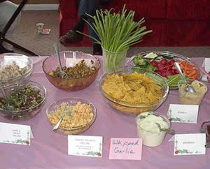 Food from the 2006 Spring Fling